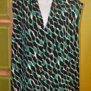 1x Jones studio sleeveless blouse